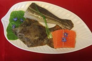 Waterblick Fischplatte - Fischrestaurant Waterblick in Loddin auf Usedom